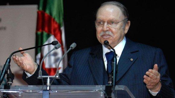 Algeria's President Bouteflika (photo: AP)