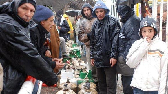 Gas and water supply bottlenecks for Algeria's citizens (photo: Islam Chanaa)