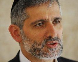 Israels Innenminister Eli Yishai; Foto: AP