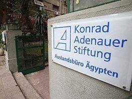 The Konrad Adenauer Foundation in Cairo (photo: AP)