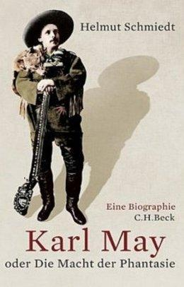 Cover of Helmut Schmiedt's new Karl May biography (image: Beck Verlag)