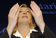 Marine Le Pen (photo: Jacques Brinon/AP/dapd)