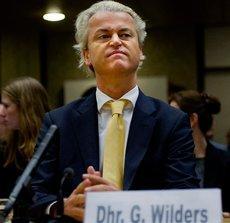 Geert Wilders (photo: AP Photo/Robin Utrecht)
