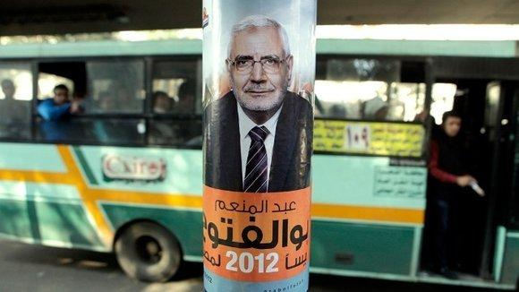 Election poster of Abdel Moneim Aboul Fotouh in Cairo (photo: dapd)