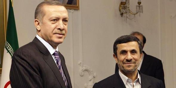Erdogan and Iran's President Ahmadinejad in Iran on 29 March 2012 (photo: dapd)