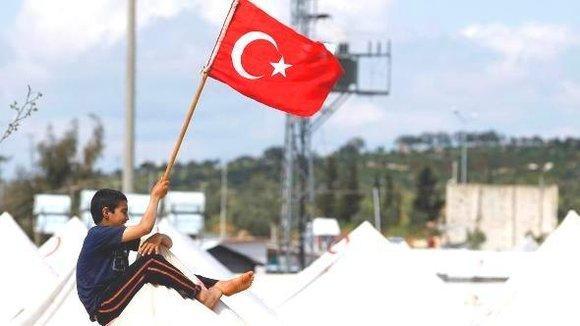 Camp für syrische Flüchtlinge in der türkischen Provinz Hatay; Foto: dpa