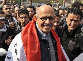 Der ägyptische Friedensnobelpreisträger Mohammed ElBaradei; Foto: AP/dapd