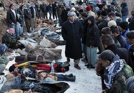 Victims of a Turkish air force attack on suspected Kurdish rebels near the Iraqi border (photo: AP/dapd)
