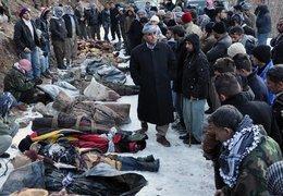 Opfer des türkischen Luftangriffes auf vermeintliche Rebellen nahe der irakischen Grenze; Foto: AP/dapd