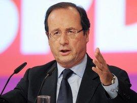 Der französische Präsident François Hollande; Foto: dpa