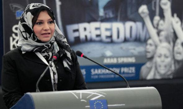 Asmaa Mahfouz (photo: Reuters)