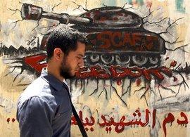 Graffiti für die Opfer der Revolution in Kairo; Foto: Reuters