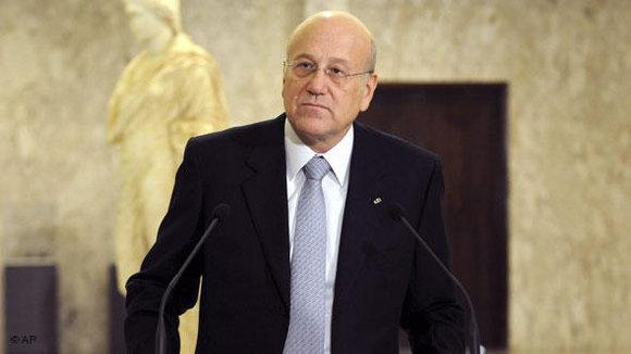 Prime Minister Najib Mikati of Lebanon (photo: AP/dapd)