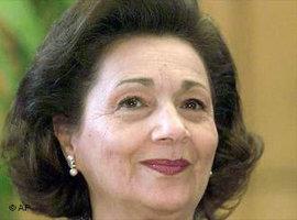 Suzanne Mubarak (photo:AP)