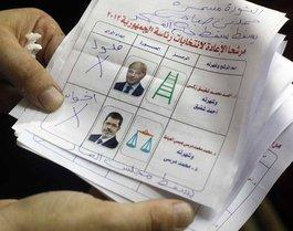 Run-off ballot sheet (photo: dapd)