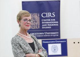 Miriam Cooke (photo: Georgetown University)