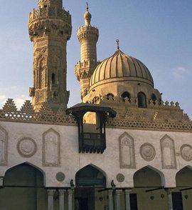 Al Azhar Mosque in Cairo (photo: picture-alliance/Arco Images GmbH)
