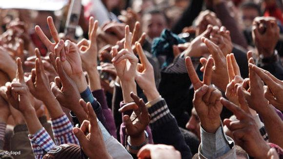 Demonstration at Tahrir Square, February 4, 2011 (photo: Emilio Morenatti/AP/dapd)