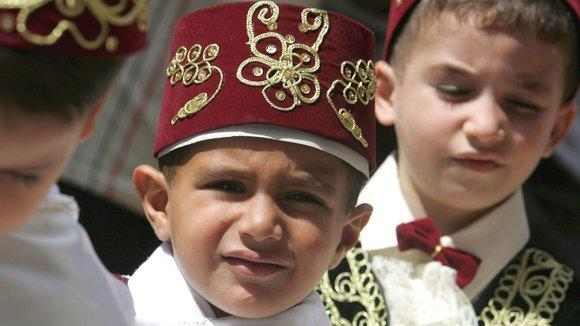 A Muslim circumcision ceremony in Germany (photo: dpa)