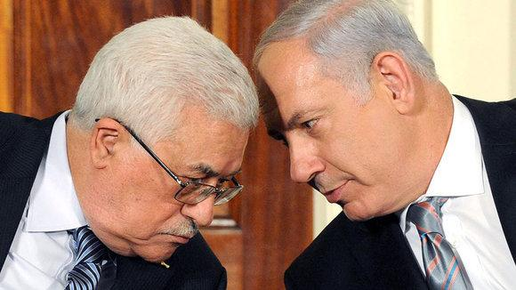 Mahmud Abbas and Benjamin Netanyahu (photo: dpa)