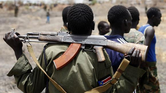 Fighter of the Sudan People's Liberation Army (SPLA) (photo: Reuters)