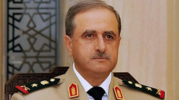 Former Syrian Defence Minister Daoud Rajiha (photo: Reuters)