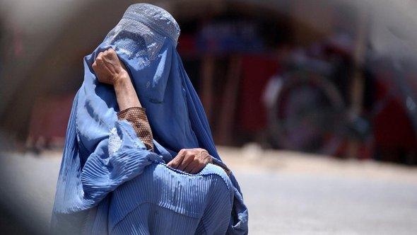 Woman in a chador (photo: AP)