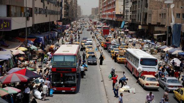 A market street in Baghdad (photo: dapd)