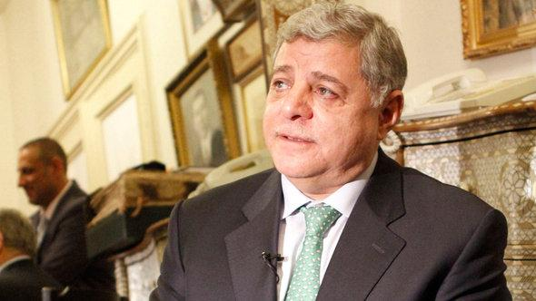 Former Jordanian Prime Minister Awn Khasawneh (photo: AP)
