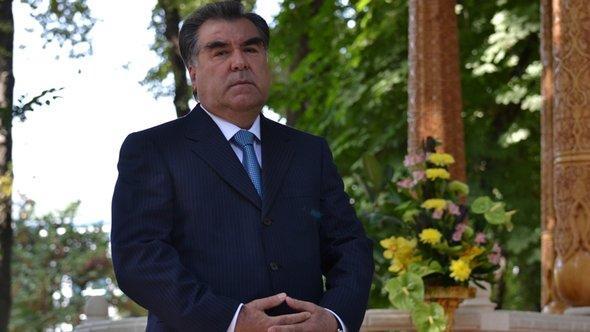 President Emomali Rahmon (photo: DW/Galim Faskhutdinov)