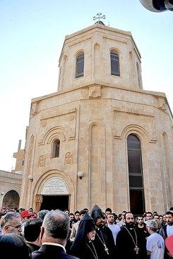 The memorial to the Armenian Genocide in Der Zor, Syria (photo: Ashnag/Wikipedia)