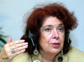 Assia Djebar (photo: AP)