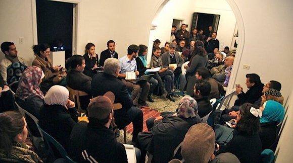Hashtag debate the 7iber group in Jordan  (courtesy: 7iber)