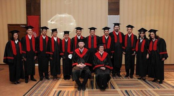 Graduates at the Red Sea Institute for Cinematic Arts in Aqaba. The institutes' students are mainly men and women from the Middle East and North Africa (photo:© www.risca.edu.jo)