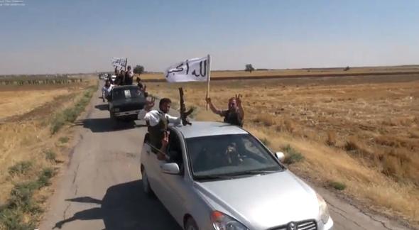 The 'unity brigade' in Aleppo (photo: Youtube.com)