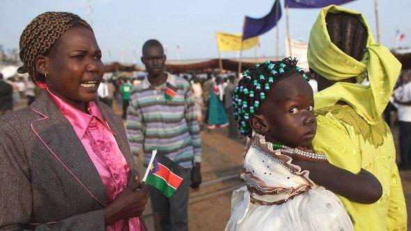Pictured: independence celebrations in Juba, South Sudan, on 9 July 2011 (photo: dapd=