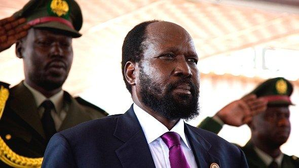 Pictured: South Sudan's President Salva Kiir attends anniversary celebrations on 9 July 2012 (photo: Reuters)