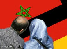 symbolic picture for Maroccan immigration to Germany (photo: DW/dpa)