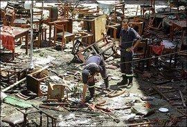 Terror attack in Casablanca, May 2003 (photo: AP)