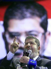 Egypt's president Mohammed Mursi (photo: AP)