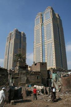 Nile City Towers in the district of Ramlet Bulak, Cairo (photo: Markus Symank)