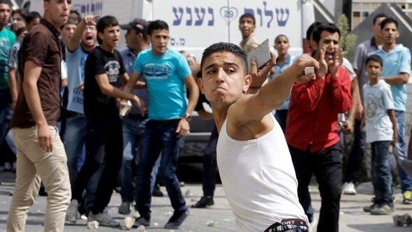 Protests in Ramallah (photo: AP)