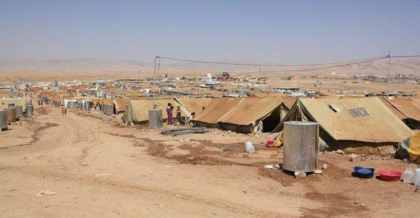 The Domiz refugee camp in northern Iraq (photo: Jan Kuhlmann)