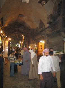 Aleppo's grand bazaar (photo: Arian Fariborz)