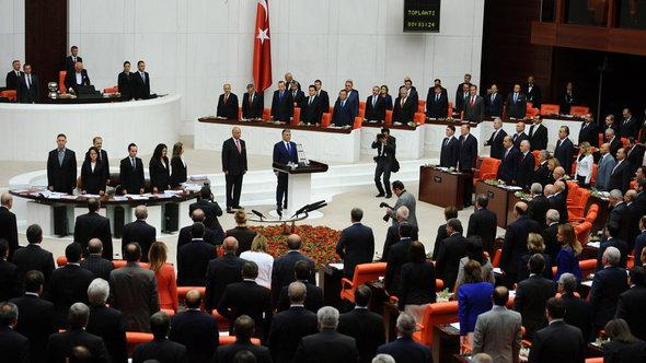 Turkey's parliament during session (photo: dapd)
