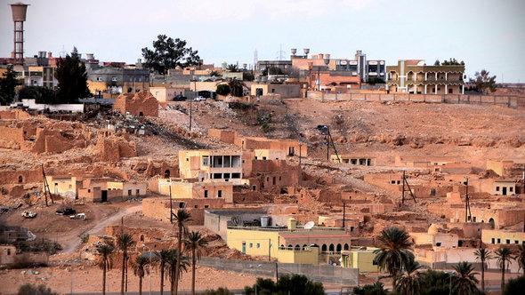 Die libysche Stadt Bani Walid im Januar 2012; Foto: Getty Images