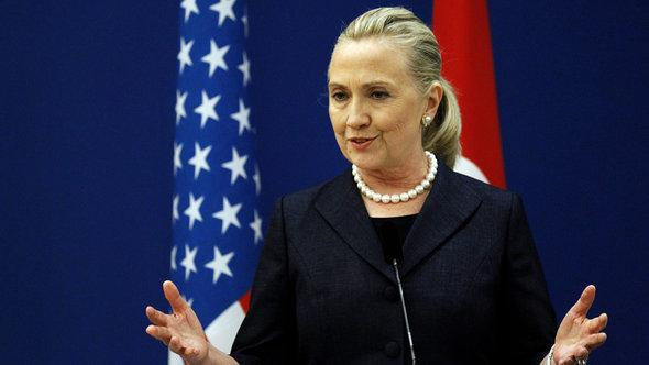 US Secretary of State Hilary Clinton (photo: picture-alliance/dpa)