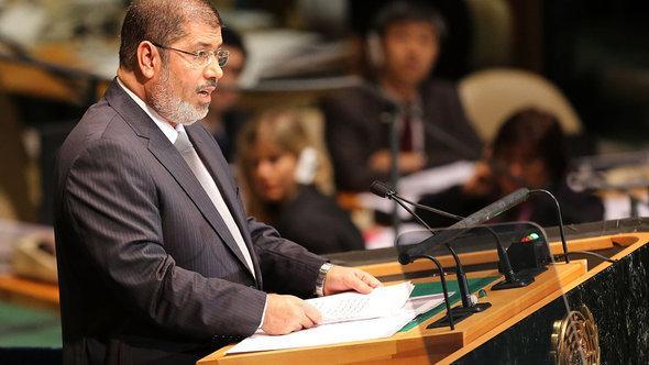 Egypt's President Mohammed Mursi (photo: Getty Images)