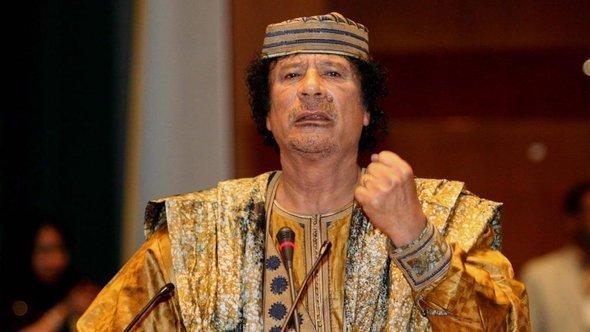 Muamar al Gaddafi (photo: picture-alliance/dpa)