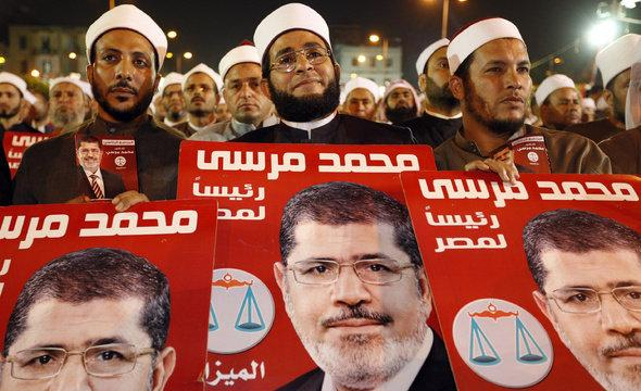 Rally of supporters of Egypt's President Mursi (photo: AP/dapd)